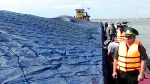 Bắt giữ Sà lan Ninh Bình chở 2.700 tấn than lậu trên địa bàn tỉnh Hải Phòng
