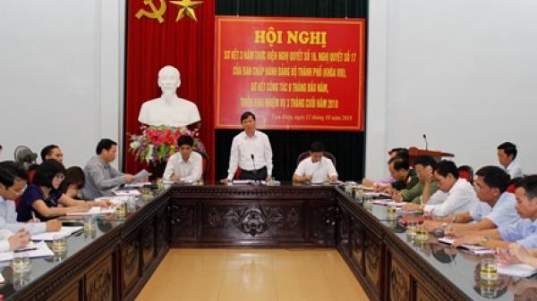 Hội nghị Ban chấp hành Đảng bộ thành phố Tam Điệp mở rộng