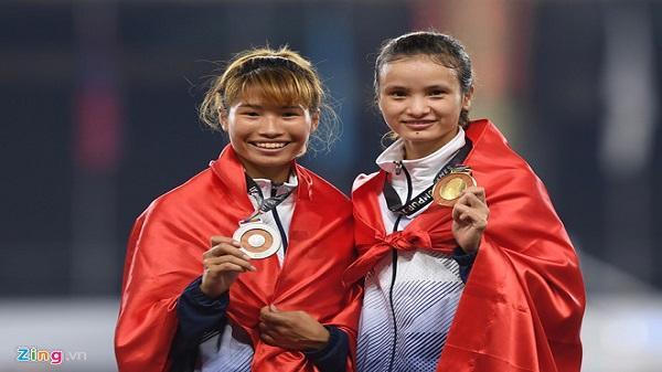 Cô gái Ninh Bình- Vũ Thị Ly xuất sắc giành huy chương vàng đầy thuyết phục tại đường đua 800 m