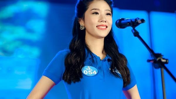 Cô gái Hải Dương xinh đẹp và tài năng chạm tay vào ngôi vị Hoa khôi Đại học Phương Đông tài sắc vẹn toàn