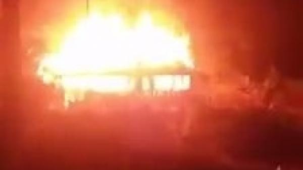 Yên Bái: Cả ngôi nhà trị giá gần 1 tỷ đồng bị t.hiêu rụi do chập điện