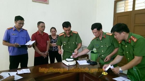 Công an huyện Kim Sơn bắt đối tượng mua bán trái phép chất ma túy