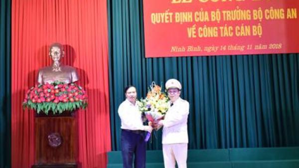 Ninh Bình có Phó giám đốc Công an tỉnh mới