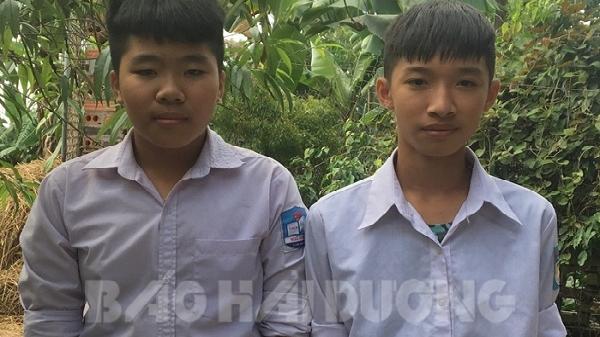 Hải Dương: Hai học sinh lớp 8 dũng cảm cứu cháu bé thoát cảnh đuối nước