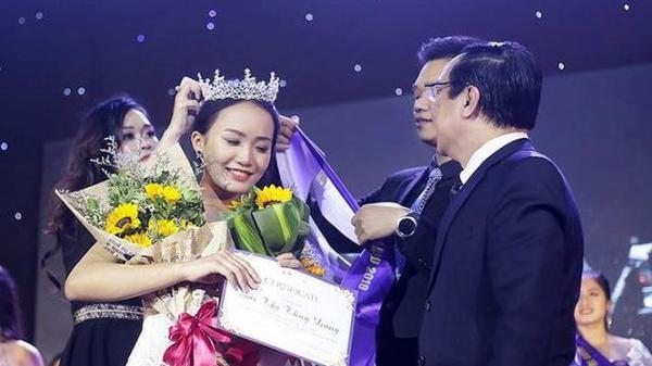 Giành ngôi vị Hoa khôi đại học Luật, nữ sinh 2K Ninh Bình mong muốn trở thành Hoa hậu Việt Nam