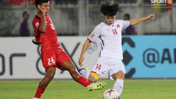 Mất oan một bàn thắng, đội tuyển Việt Nam chia điểm trên đất Myanmar