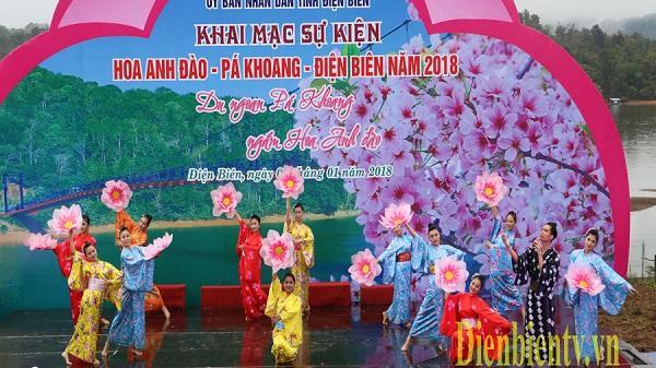 Sự kiện Hoa anh đào - Pá Khoang - Ðiện Biên năm 2019 sẽ diễn ra từ ngày 11 - 13/1/2019
