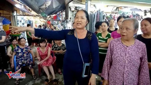 Xóa chợ để trồng cây, hàng trăm tiểu thương Ninh Bình kêu cứu
