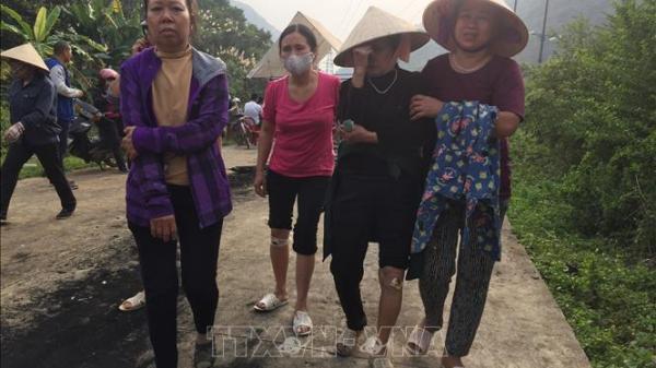 NÓNG: Xô xát, đập phá tường nhà dân liên quan đến dự án Đài hóa thân hoàn vũ tại Ninh Bình