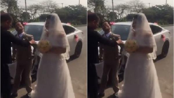 Nghẹn ngào: Đám cưới đầy xúc động của chú rể khuyết tật với cô dâu kém 20 tuổi