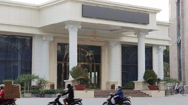 Doanh nghiệp tư nhân số 1 tỉnh Điện Biên xây dựng Trung tâm tiệc cưới t.rái phép trên đất cây xanh