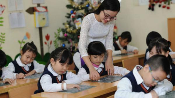 Giáo viên tư thục lương 30-40 triệu đồng mỗi tháng