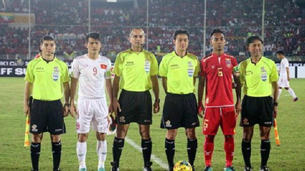 Lộ diện danh tính trọng tài bắt chính trận bán kết Việt Nam-Philippines tối nay
