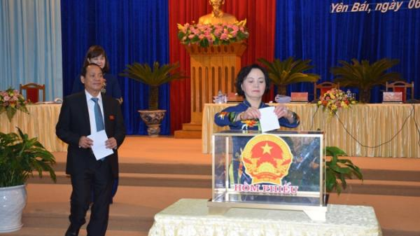 Yên Bái: Bí thư và Chủ tịch tỉnh có nhiều số phiếu tín nhiệm cao
