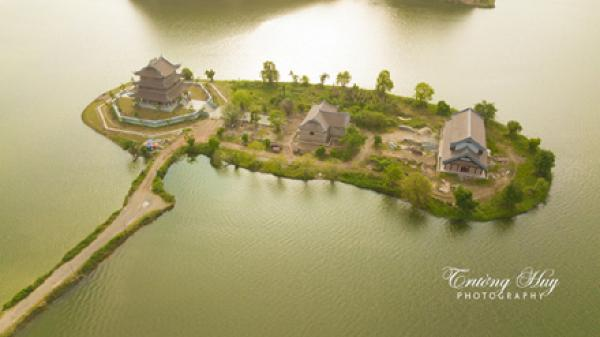 Đảo chùa Vàng khu du lịch tâm linh số 1 của Ninh Bình