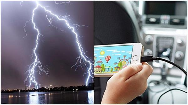 Vừa chơi game vừa sạc điện thoại lúc trời mưa, bé gái 6 tuổi bị sét đ.ánh t.ử v.ong
