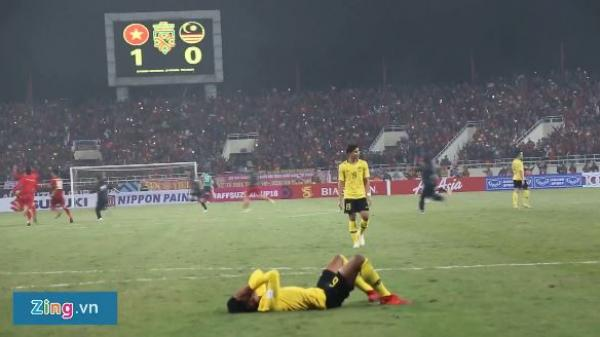Cầu thủ Malaysia không thể nuốt trôi thất bại trước tuyển Việt Nam