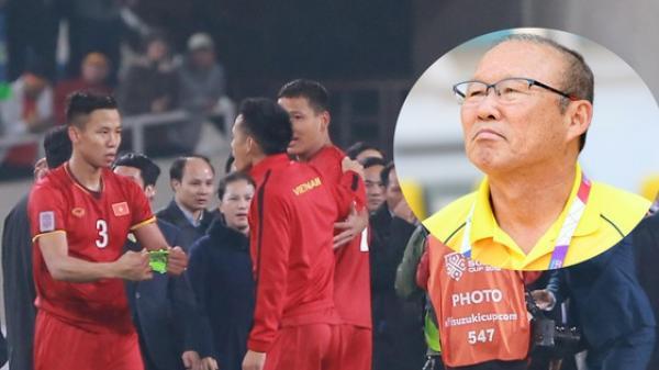 Lý do HLV Park Hang-seo chọn 's.át thủ máy c.hém' Quế Ngọc Hải mang băng đội trưởng thay Văn Quyết ở AFF Cup 2018