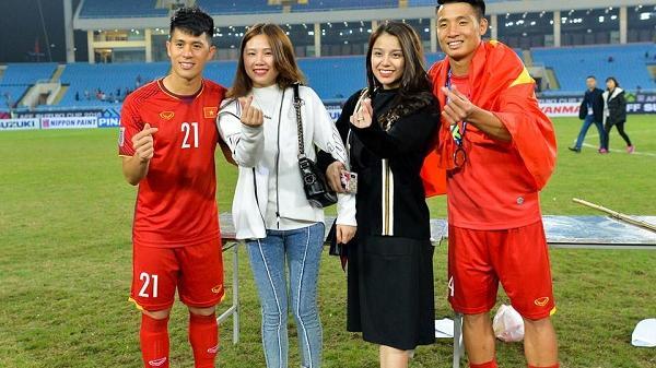 Cô gái Điện Biên khiến loạt fan ghen tỵ vì sự chu đáo của chàng hậu vệ Đình Trọng