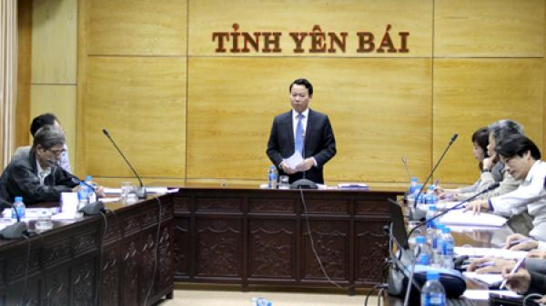 Hội nghị lấy ý kiến vào Đồ án Điều chỉnh quy hoạch chung thành phố Yên Bái và vùng phụ cận đến năm 2040, tầm nhìn 2060