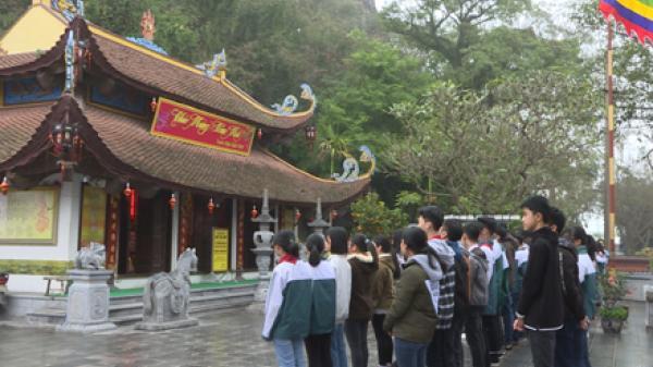 Ghé thăm ngôi đền của vị danh nhân văn hóa Ninh Bình từng được trọng dụng suốt 4 đời vua Trần