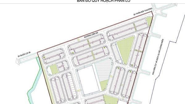 Khu dân cư mới Cẩm Điền - Lương Điền (Hải Dương) rộng hơn 14 ha chính thức được phê duyệt