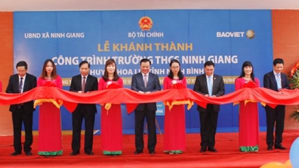 Hoa Lư: Khánh thành trường THCS Ninh Giang