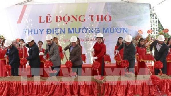 Điện Biên: Sau 10 năm chuẩn bị, dự án Nhà máy thủy điện Mường Mươn đã được tổ chức Lễ động thổ