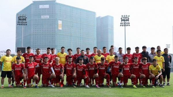 1 cầu thủ Hải Dương bất ngờ bị loại khỏi đội tuyển Việt Nam dự Asian Cup 2019