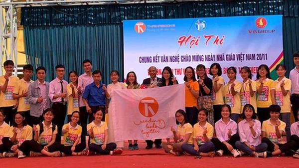 Vingroup tài trợ xe sách lưu động cho tỉnh Ninh Bình và 7 tỉnh khác