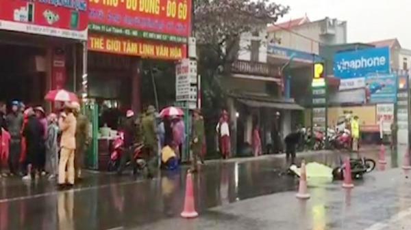 Ninh Bình: Va chạm với xe tải, nữ công nhân t.ử v.ong thương tâm