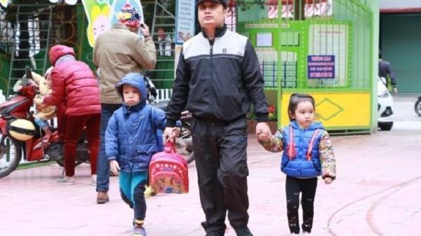 Sau Tết Dương lịch, học sinh Điện Biên tiếp tục nghỉ học do rét đậm