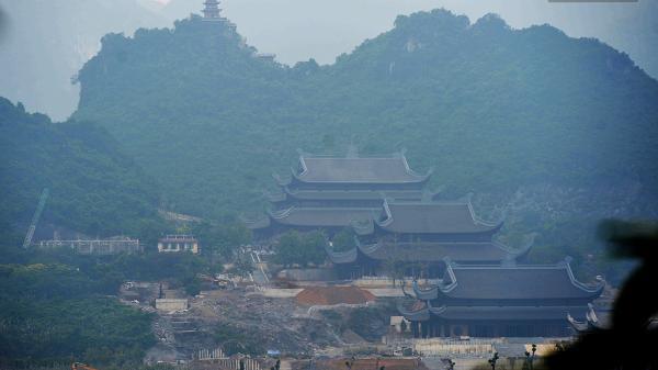 Cận cảnh ngôi chùa soán ngôi Bái Đính trở thành chùa lớn nhất Việt Nam - Nơi sẽ đặt báu vật thiên thạch mặt trăng 600.000 USD được đấu giá từ Mỹ