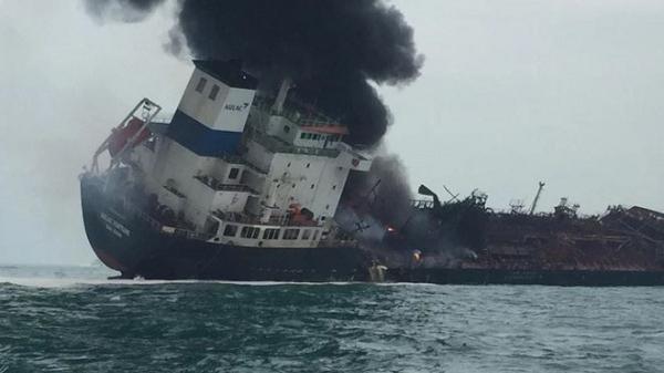 Xác định được quê quán 25 thuyền viên tàu chở dầu bốc c.háy, trong đó có 1 thuyền viên người Hải Dương