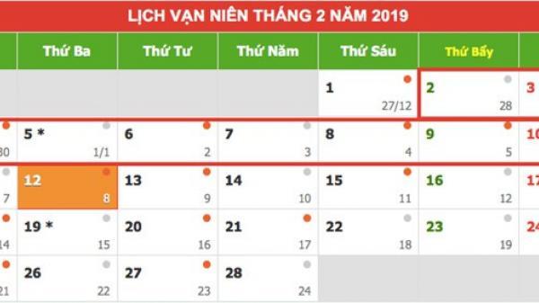 Âm lịch 2019 có 354 ngày, nhưng 2020 thì lên tận 384 và sự thật ít người để ý về lịch âm