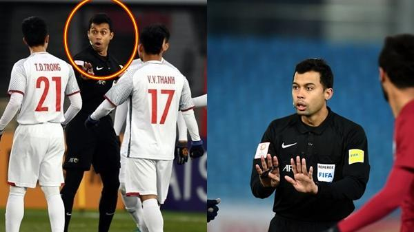 """Lộ diện trọng tài bắt trận Việt Nam vs Iran: Là người mà CĐV """"ghét cay ghét đắng nhất"""" U23 châu Á"""