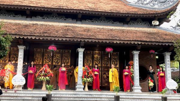 Khánh thành tu bổ, tôn tạo ngôi chùa lớn nhất Hải Dương