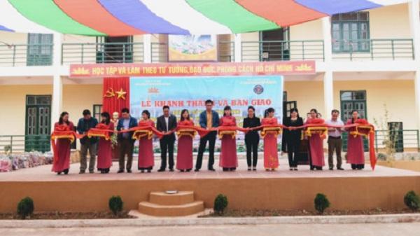 Bàn giao trường học mới cho huyện Mường Nhé tỉnh Điện Biên