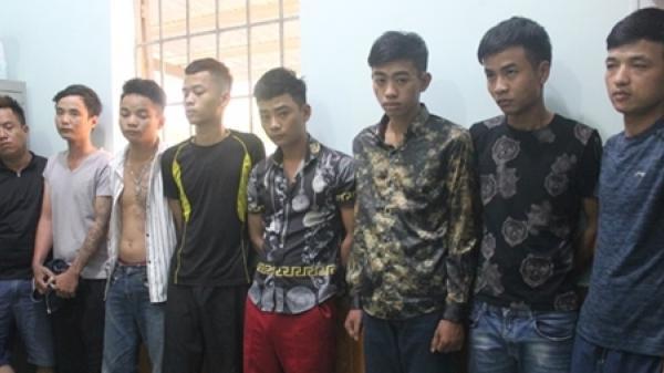 """Tạm giữ 2 thanh niên Hải Dương cùng 6 đối tượng khác với hàng nghìn hợp đồng cho vay """"tí.n dụng đen"""""""