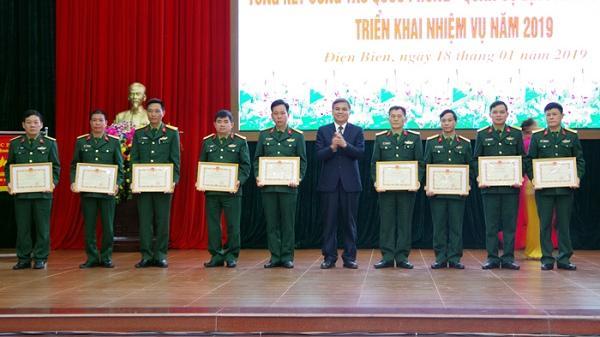 UBND tỉnh Điện Biên tổng kết công tác quốc phòng - quân sự địa phương năm 2018