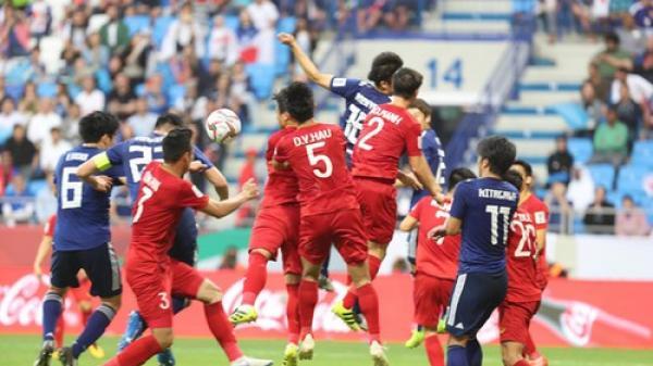 Việt Nam ngẩng cao đầu rời Asian Cup 2019 với tỉ số 1-0 trước Nhật Bản