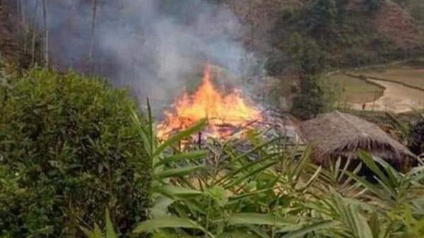 Từ Ninh Bình lên nhà bố vợ phóng hỏa đ.ốt nhà rồi nhảy vào đám cháy tự th.iêu
