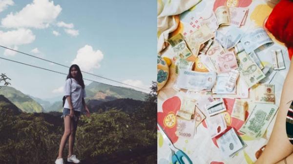 Yên Bái: Nữ sinh viên bật khóc vì em gái lớp 7 đập heo đất cho vay 1,5 triệu dành dụm cả năm