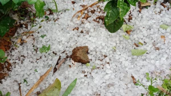 Yên Bái: Nhà dân thiệt hại nặng do mưa đá bất thường