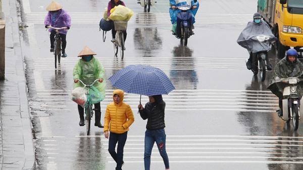 CHÚ Ý: Bắc Bộ vẫn còn khoảng 3 - 4 đợt không khí lạnh trong tháng 3