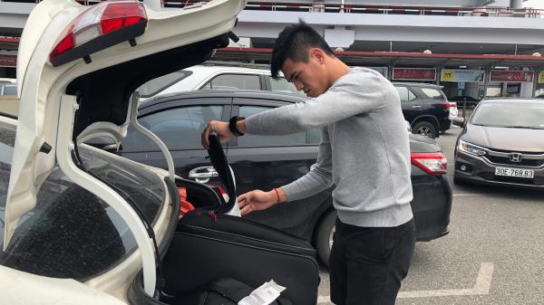 Tiến Linh - cầu thủ Hải Dương gặp sự cố đáng quên trong ngày hội quân cùng U23 Việt Nam