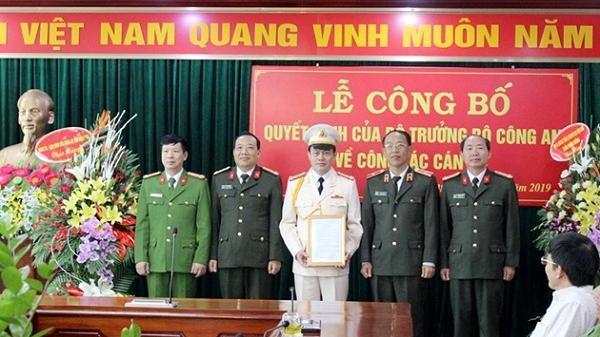THÔNG BÁO: Điện Biên có tân Phó Giám đốc Công an tỉnh
