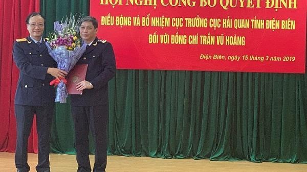 Công bố: Hải quan Điện Biên có Cục trưởng mới