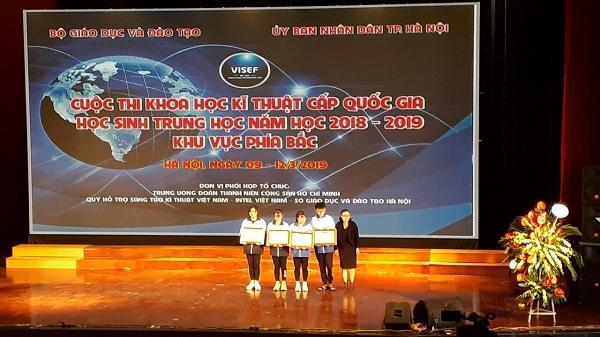 Điện Biên đạt giải Ba trong cuộc thi Khoa học kỹ thuật cấp Quốc gia