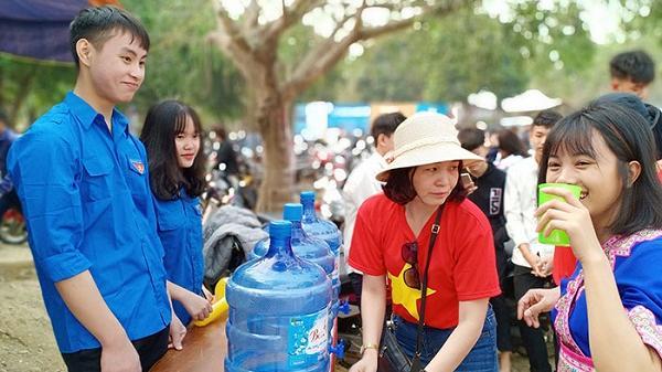 Điện Biên: Phục vụ nước uống miễn phí tại 2 điểm du lịch